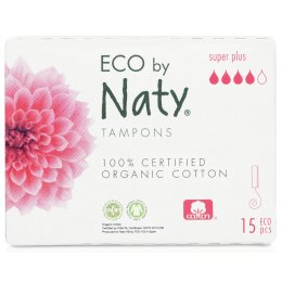 Eco by Naty Digital Tampons - Super  - 15 pcs