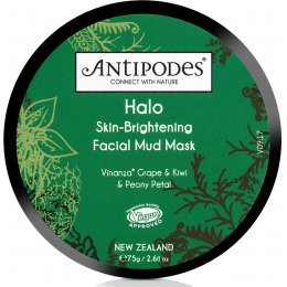 Antipodes Halo Skin Brightening Facial Mud Mask - 75g