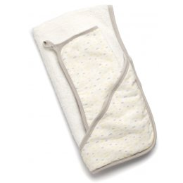 Storksak Hooded Towel & Wash Cloth - Raindot