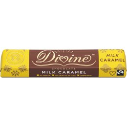Divine Caramel Milk Chocolate Small Bar
