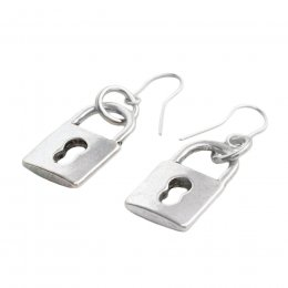 Wilby Padlock Earrings