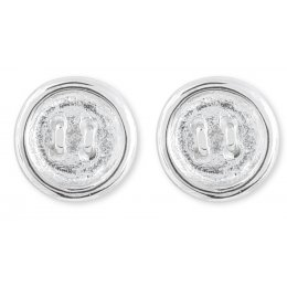 Kashka London Push my buttons  Earrings silver