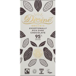 Organic 95 percent  Dark Chocolate Bar - 80g