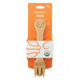 Bambu Sustainable Kids Fork & Spoon - 18m