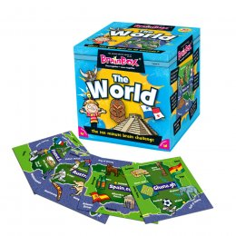 Brainbox World Trivia Game