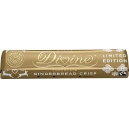 Divine Limited Edition Gingerbread Crisp Chocolate Small Bar