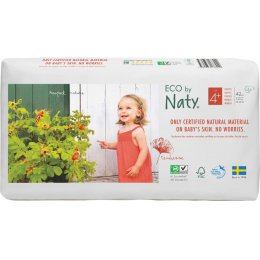 Eco By Naty Disposable Nappies Size 4  Economy Pack - Maxi Plus - Pack of 42