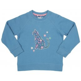 Kite Starry Cat Sweatshirt