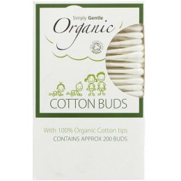 Simply Gentle Organic Cotton Buds - Pack of 200