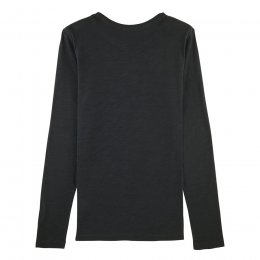 Organic Cotton Long Sleeve Slub T-Shirt