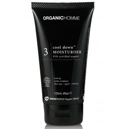 Organic Homme Cool Down Moisturiser - 125ml