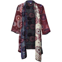 Fair Trade Patterned Shrug