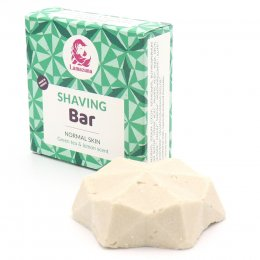 Lamazuna Green Tea & Lemon Shaving Bar - 17g