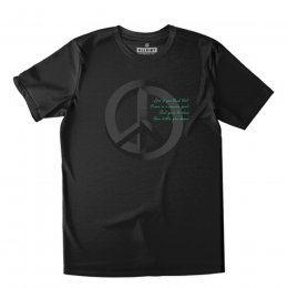 All Riot Illusion of Peace Organic T-Shirt - Black