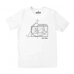 All Riot Victor Hugo Organic T-Shirt - White