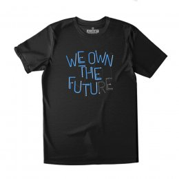 All Riot We Own The Future Organic T-Shirt - Black