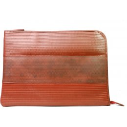 Elvis & Kresse Reclaimed Firehose Laptop Case - Red