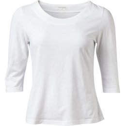 Nomads White 1/2 Sleeve Top