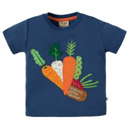 Frugi Vegetable Applique T-Shirt