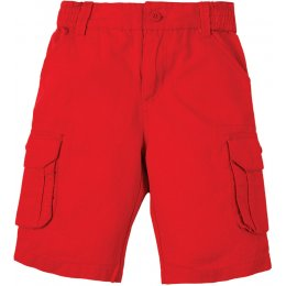Frugi Red Ripstop Shorts