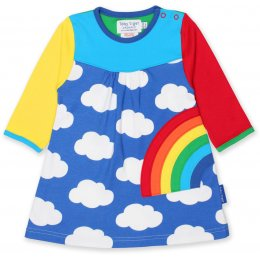 Toby Tiger Rainbow Long Sleeved Dress