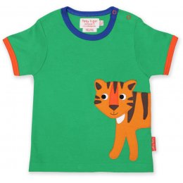Toby Tiger Applique T-Shirt - Tiger