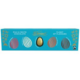Divine Milk & White Chocolate Flights of Flavours Easter Eggs - 100g