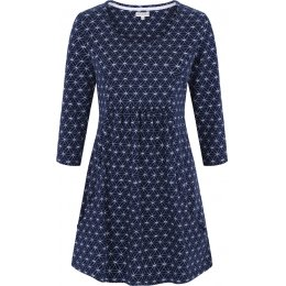 Mudd & Water Navy Circle Francoise Tunic