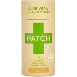 PATCH Aloe Vera Bamboo Plasters - Tube of 25
