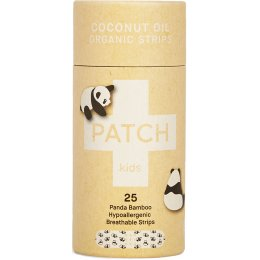 PATCH Coconut Oil Kids Bamboo Plasters - Tube of 25