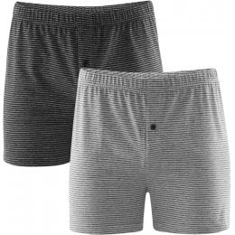 Organic Cotton Ben Boxer Shorts - Pack of 2
