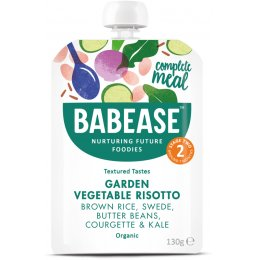 Babease Organic Garden Vegetable Risotto - 130g