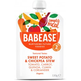 Babease Organic Sweet Potato & Chickpea Stew - 130g
