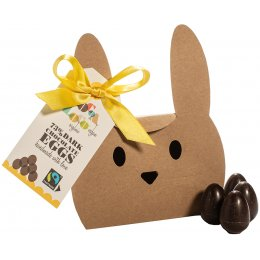 Cocoa Loco Dark Chocolate Mini Eggs - 140g