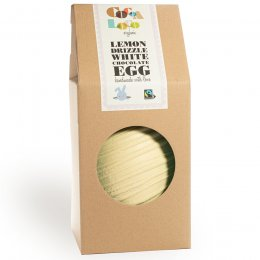 Cocoa Loco Giant White Chocolate Easter Egg - Lemon Drizzle - 1.25kg