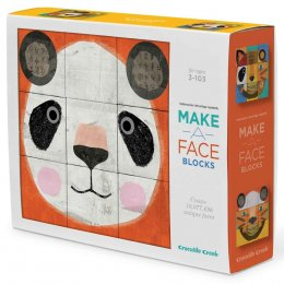 Crocodile Creek Make-a-Face Block Puzzle