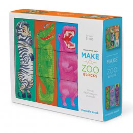 Crocodile Creek Make-a-Zoo Block Puzzle