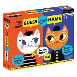 Mudpuppy Guess Meow Name Game - Cats & Dogs
