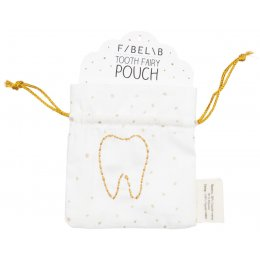 Fabelab Organic Cotton Tooth Fairy Pouch