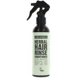 Living Naturally Herbal Hair Rinse Conditioner - 200ml