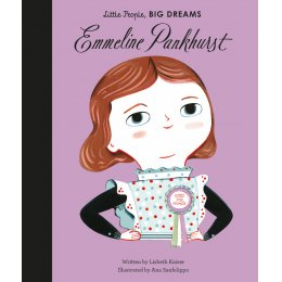 Little People Big Dreams Hardback Book: Emmeline Pankhurst