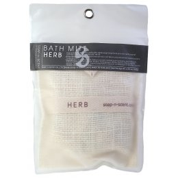 Herb Soap Filled Wash Mitt - 140g