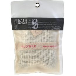 Flower Soap Filled Wash Mitt - 140g
