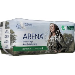 Abena Light Incontinence Pads - Normal - Pack of 12