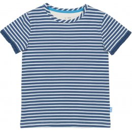 Kite Blue Stripy T-Shirt