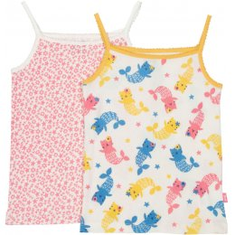 Kite Mercat & Sea Floral Vests - Pack of 2