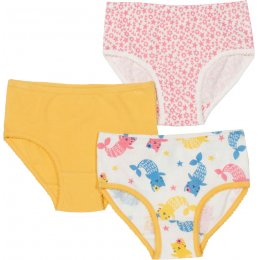 Kite Mercat & Sea Floral Briefs - Pack of 3