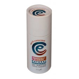 Earth Conscious Grapefruit & Lemon Natural Deodorant Stick - 60g