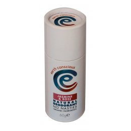 Earth Conscious Jasmine & Rose Natural Deodorant Stick - 60g