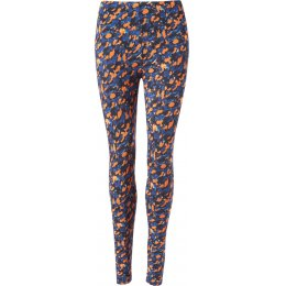 Thought Harvest Orange Brigitta Bamboo Leggings